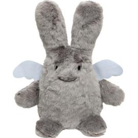 engel konijntje grijs