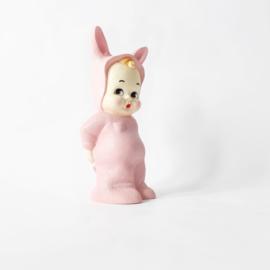baby lapin lamp pink
