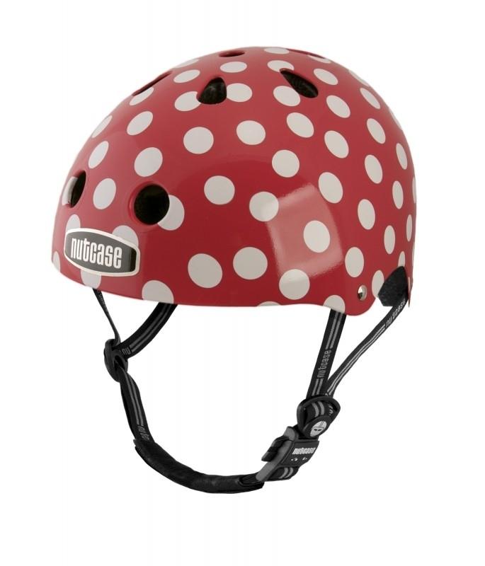 nutcase helm `mini simi dots`
