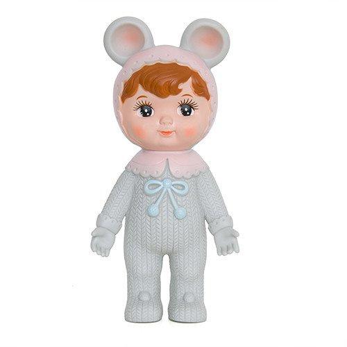 grey woodland doll