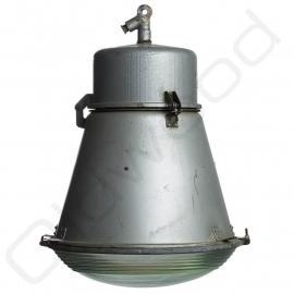 Industrial ''Tonnetje'' lamp glass