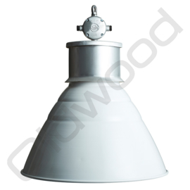 Industrial lamp - Hadrek - Black/white
