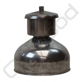 Industrial zinc lamp from French chrome