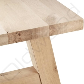 Robust table ''Milaan'' full oak