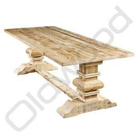 Barnwood dinner table - Delft