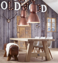 Industrial lamp - Barrel - Copper