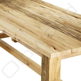 Robust table ''Moskou'' old oak