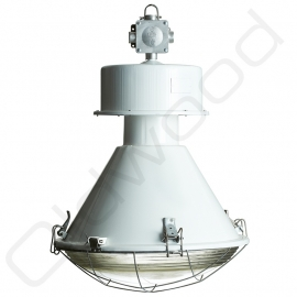 industrial lamp tanek painted