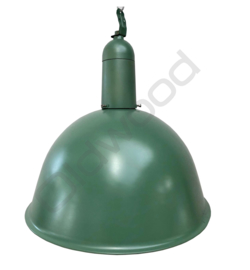 Industrial lamp - Norway green