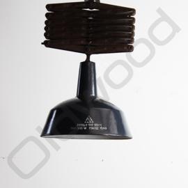 Vintage industrial ceiling light / scissor-lamp / hinge lamp