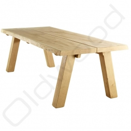 Robust tree trunk table ''Monaco''