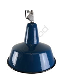 Industrial blue lamp