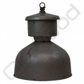 Industrial zinc lamp from French grey