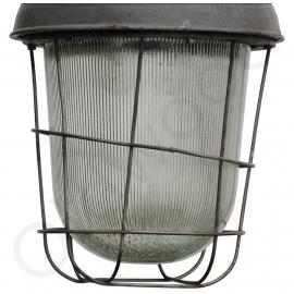 Industrial Basket pendant - Factory Lamp