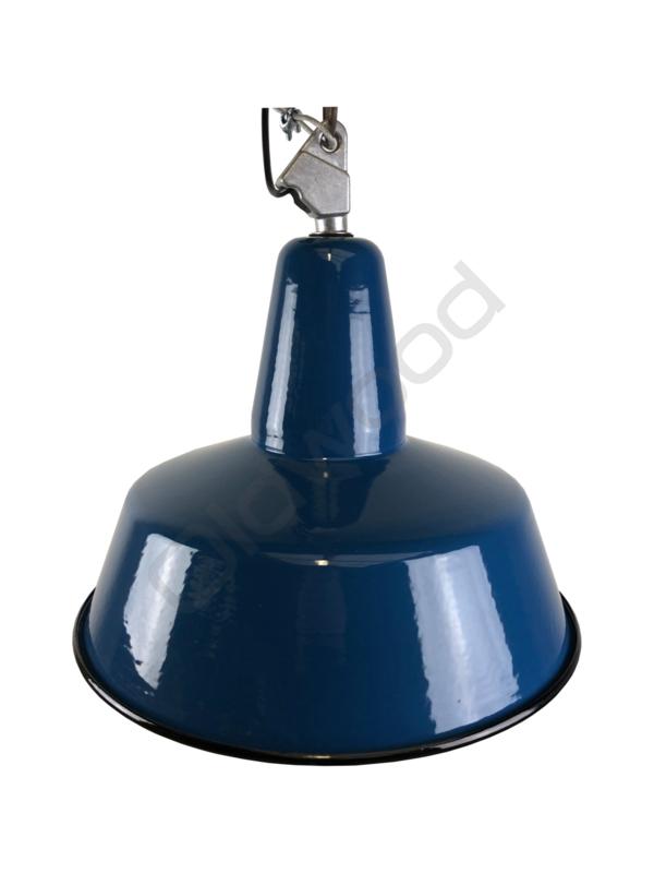 Industrial blue lamp
