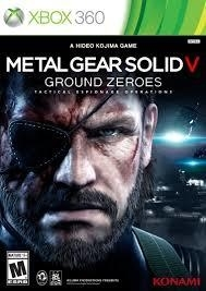 Metal Gear Solid V Ground Zeroes  (xbox 360 nieuw)