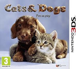 Cats & Dogs Pets at Play (Nintendo 3DS used game)