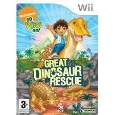 Go Diego Go Great Dinosaur Rescue zonder boekje (Nintendo wii tweedehands game)