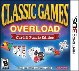 Classic Games Overload  (Nintendo 3DS tweedehands game)