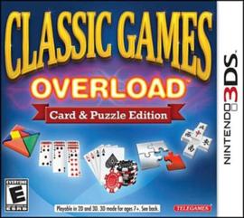 Classic Games Overload  (Nintendo 3DS tweedehands game)