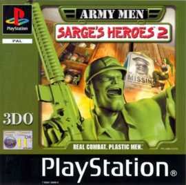 Army Men Sarges Heroes 2 (ps1 used game)