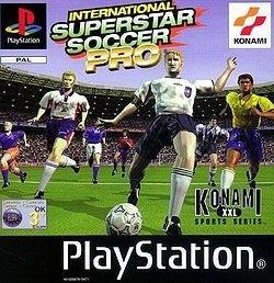 International Superstar Soccer Pro Platinum zonder boekje (PS1 tweedehands game)