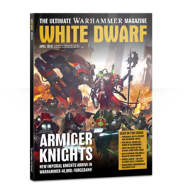 White Dwarf April 2018 Magazine  (Warhammer Nieuw)