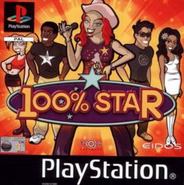 100% star (ps1 tweedehands game)