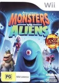 Monsters vs Aliens (Nintendo Wii used game)