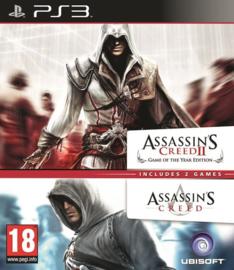 Assassin's Creed II Goty en Assassin's Creed (ps3 game nieuw)