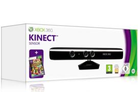 Kinect  voor de xbox 360 slim in doos (used)
