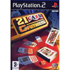 21 Card games (ps2 nieuw)