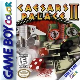 Caesars Palace II losse cassette(Gameboy color tweedehands game)