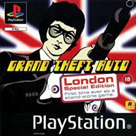 Grand Theft Auto London special edition zonder boekje (PS1 tweedehands game)