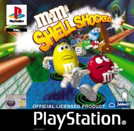M&M's Shell Shocked zonder boekje (ps1 tweedehands game)
