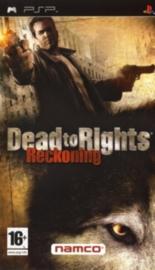 Dead to Rights Reckoning beschadigde cover en zonder boekje (psp tweedehands game)