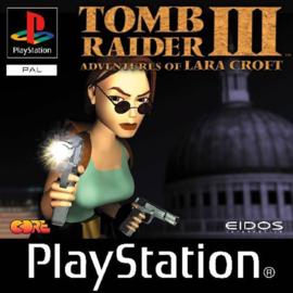 Tomb Raider III (PS1 tweedehands game)