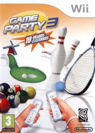 Game Party 3 (Wii tweedehands game)