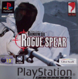 Tom Clancy's Rainbow Six Rogue Spear platinum (PS1 tweedehands game)