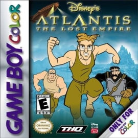 Disney's Atlantis the lost empire losse casette (Gameboy Color tweedehands game)