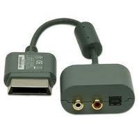 Audio Adapter voor de xbox 360 (xbox 360 used accessoire)