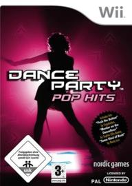 Dance Party Pop Hits - game only (Nintendo wii tweedehands game)