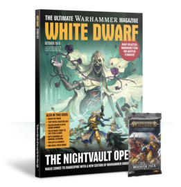 White Dwarf October 2018 Magazine  (Warhammer Nieuw)