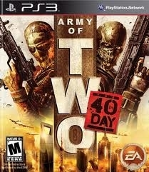 Army of Two 40th Day (ps3 used game)