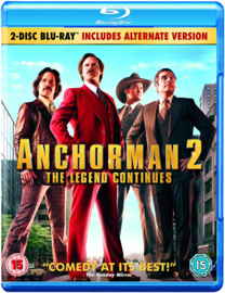 Anchorman 2 The Legend Continues (Blu-ray tweedehands film)