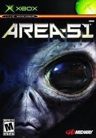 Area 51 zonder boekje (xbox used game)