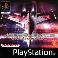 Ace Combat 3 Electrosphere psx (ps1 tweedehands game)