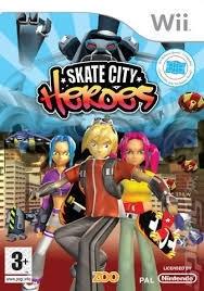Skate City Heroes zonder boekje (Nintendo Wii tweedehands game)