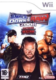 Smackdown vs Raw 2008 (Nintendo wii tweedehands game)