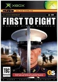 First to Fight zonder boekje (xbox used game)